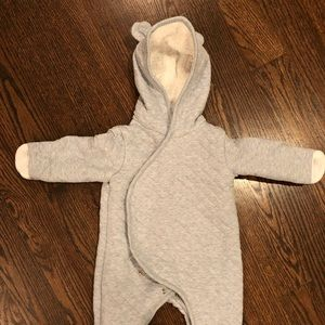 Baby warm one piece suit